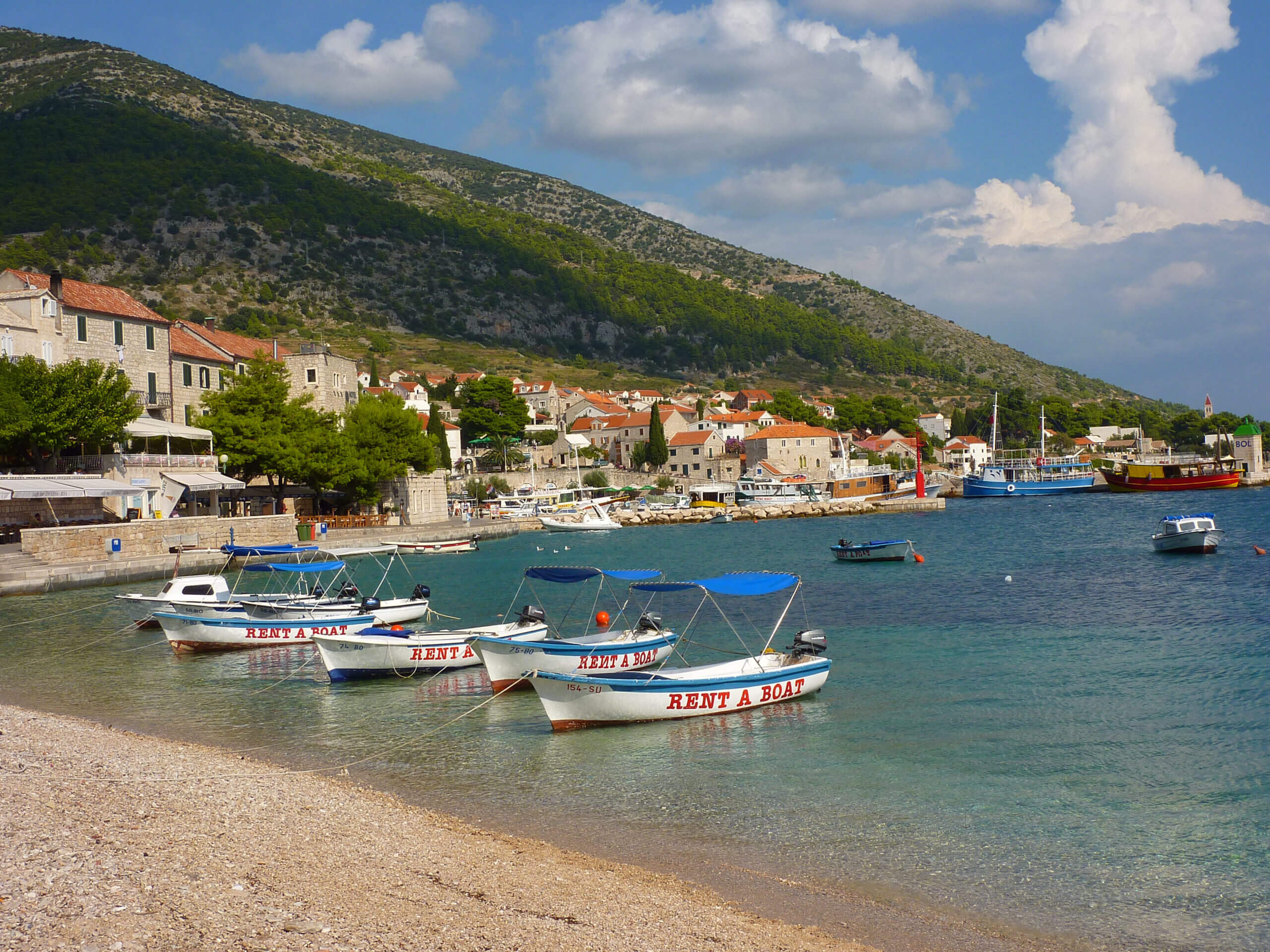 Isla de Brac. Croacia.