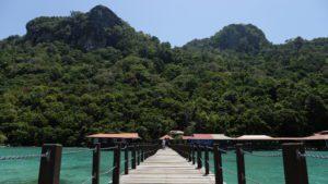 Borneo. Parque Marino Tun Sakaran