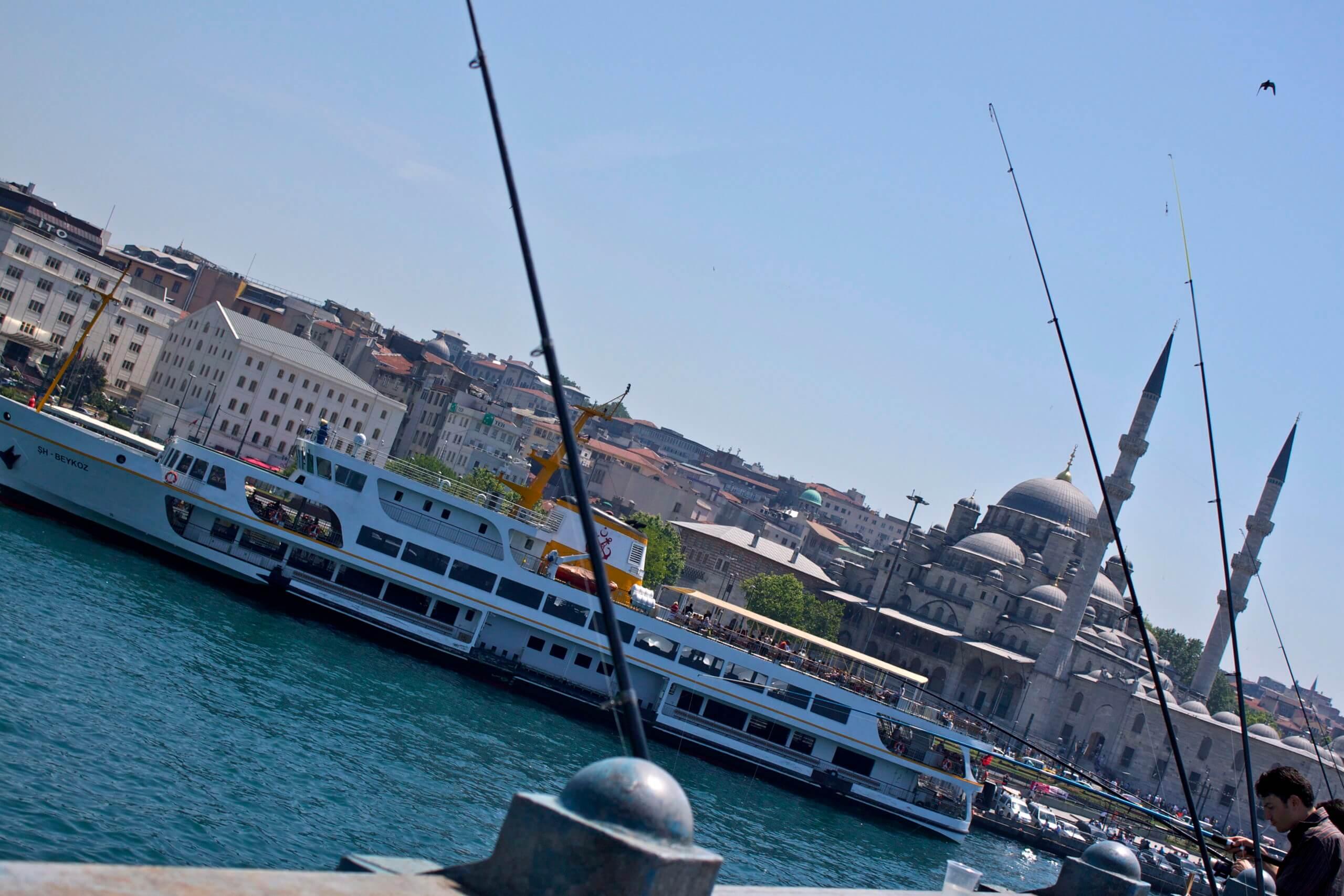 Puente Gálata. Estambul. Turquía.