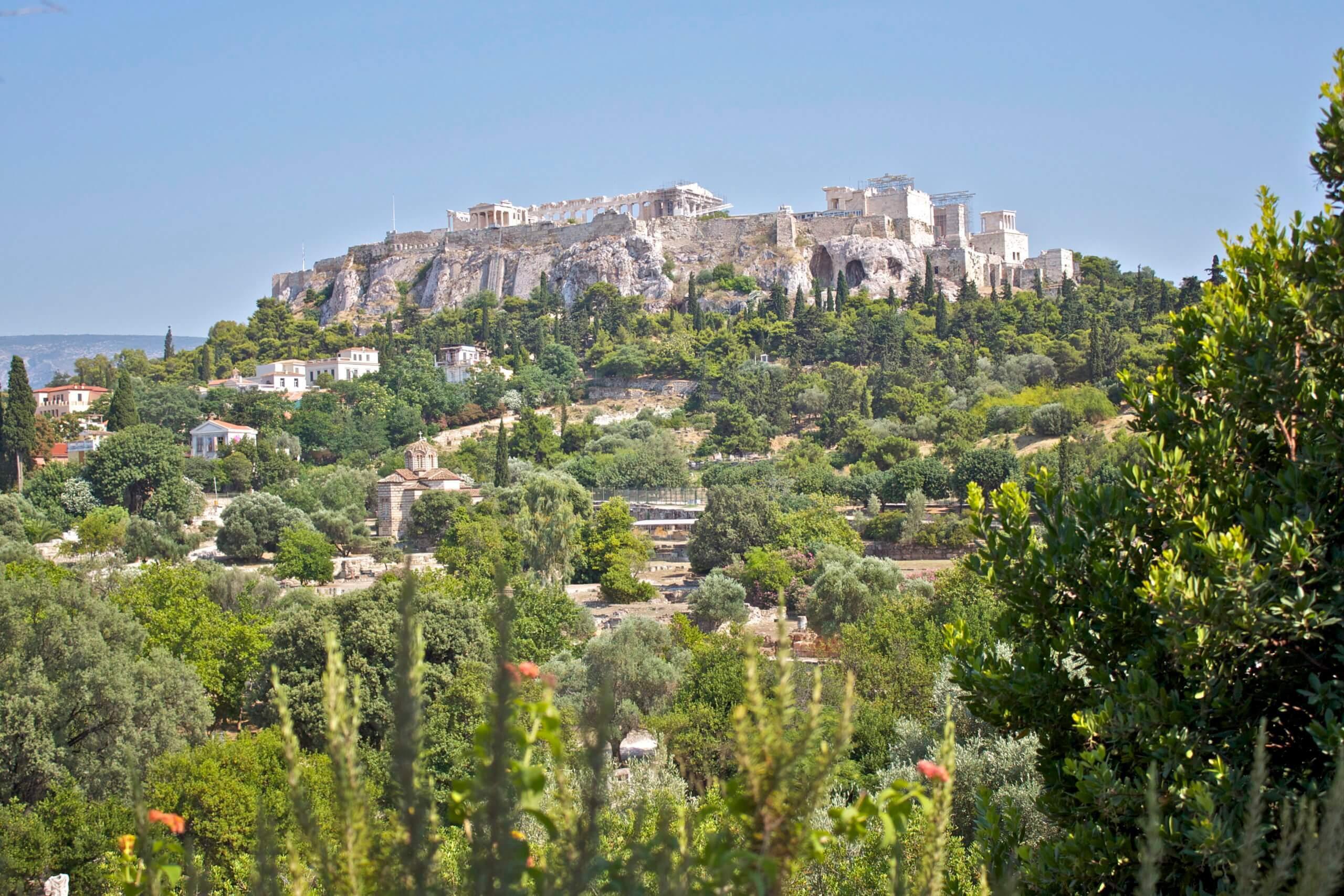 Ágora. Atenas. Grecia.
