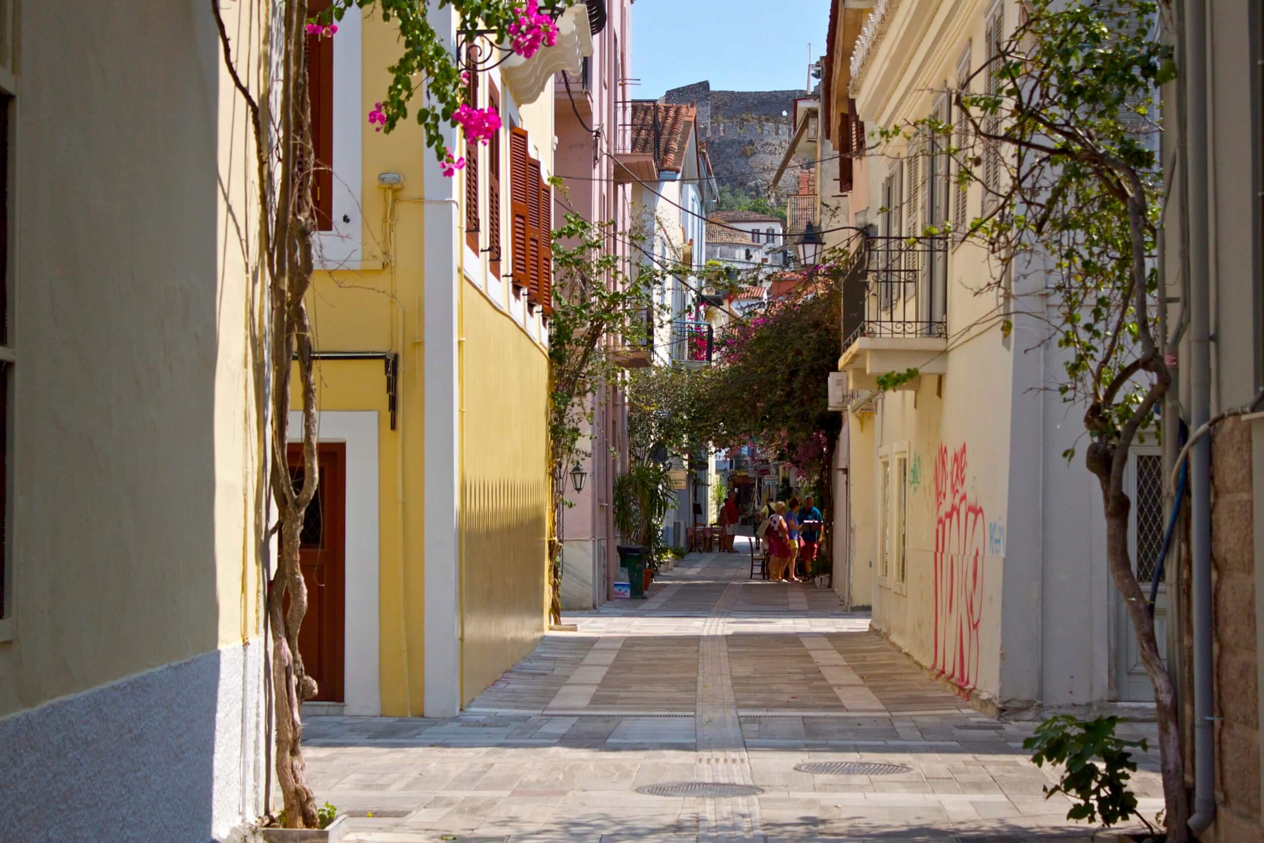 Nauplia. Peloponeso. Grecia