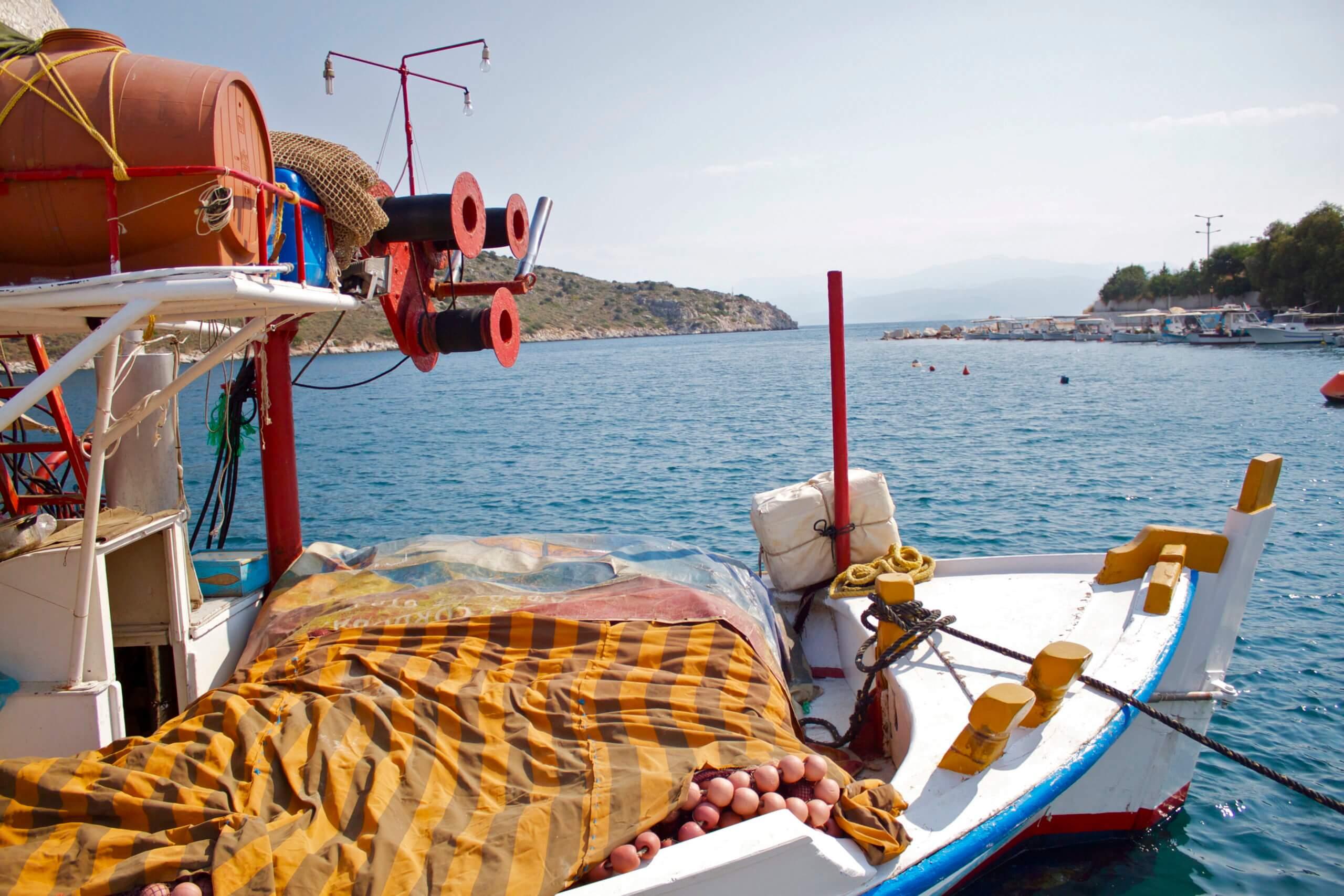 Tolo. Peloponeso. Grecia.