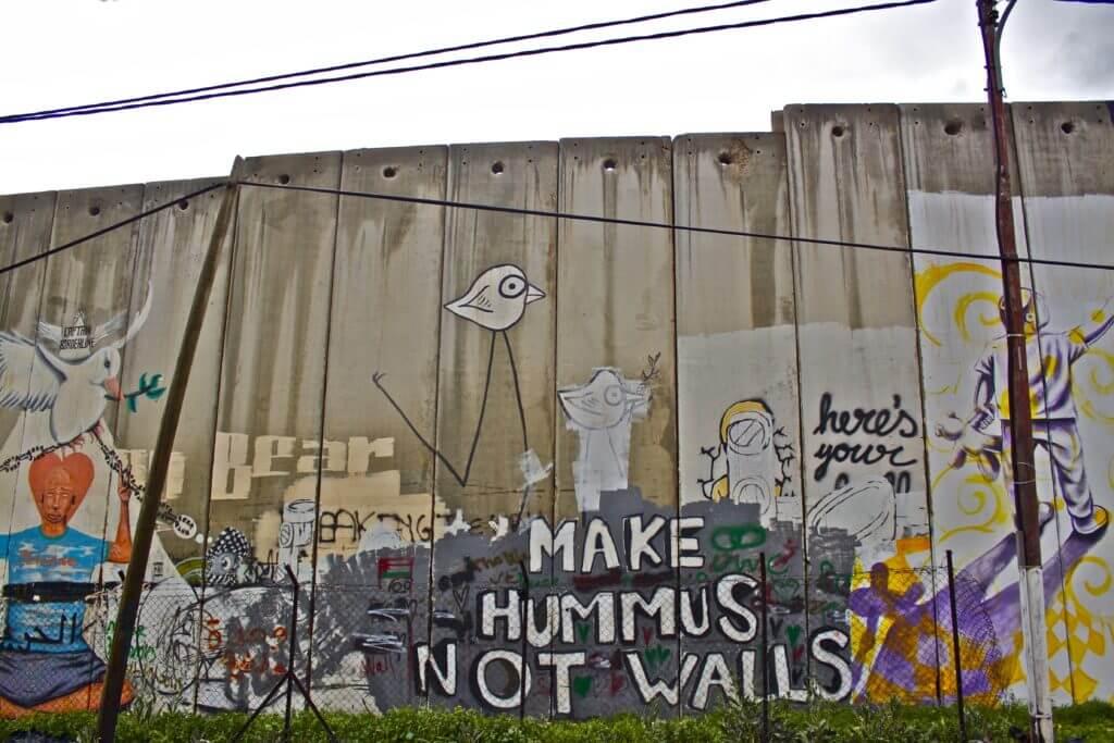 Muro. Cisjordania.