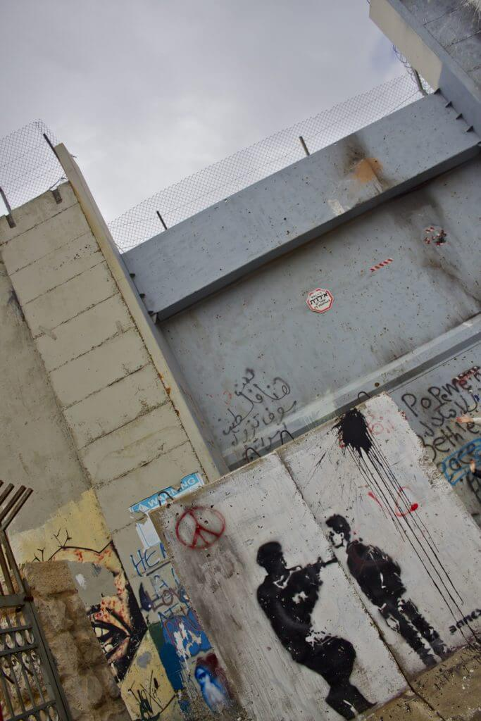 El Muro. Cisjordania.