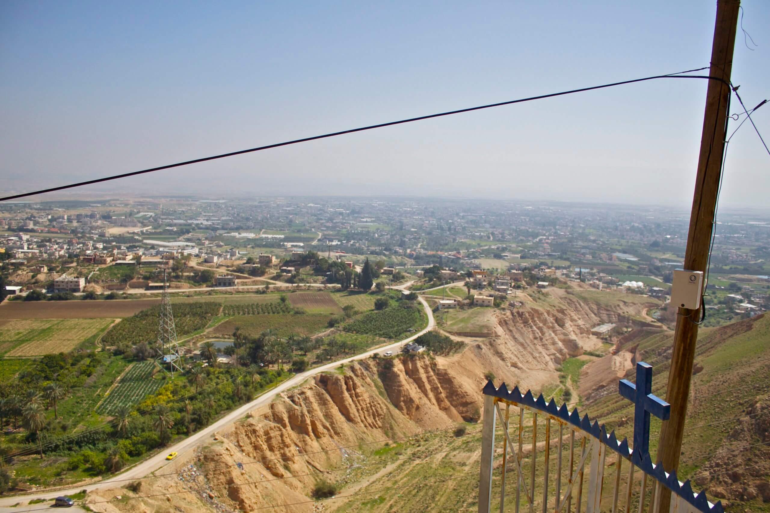 Valle del Jordan. Palestina.
