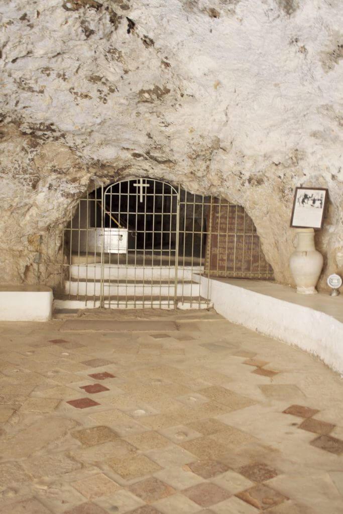 Monasterio de la Tentación. Palestina.
