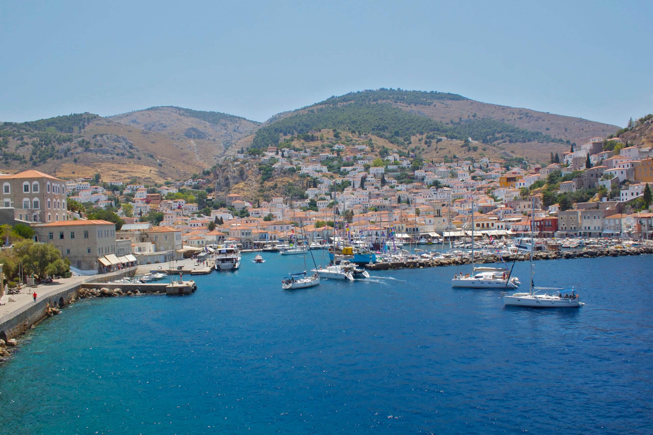 Isla de Hydra. Grecia.