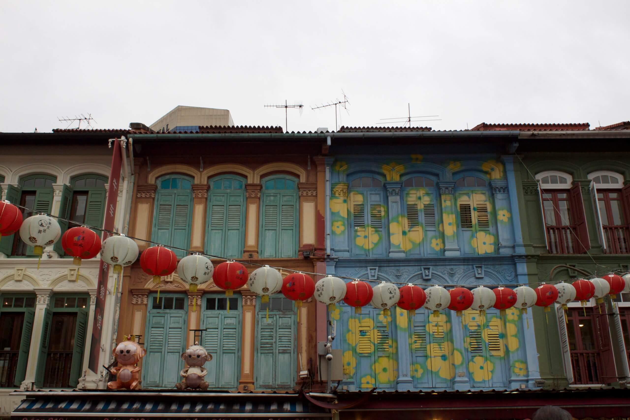 Chinatown. Singapur