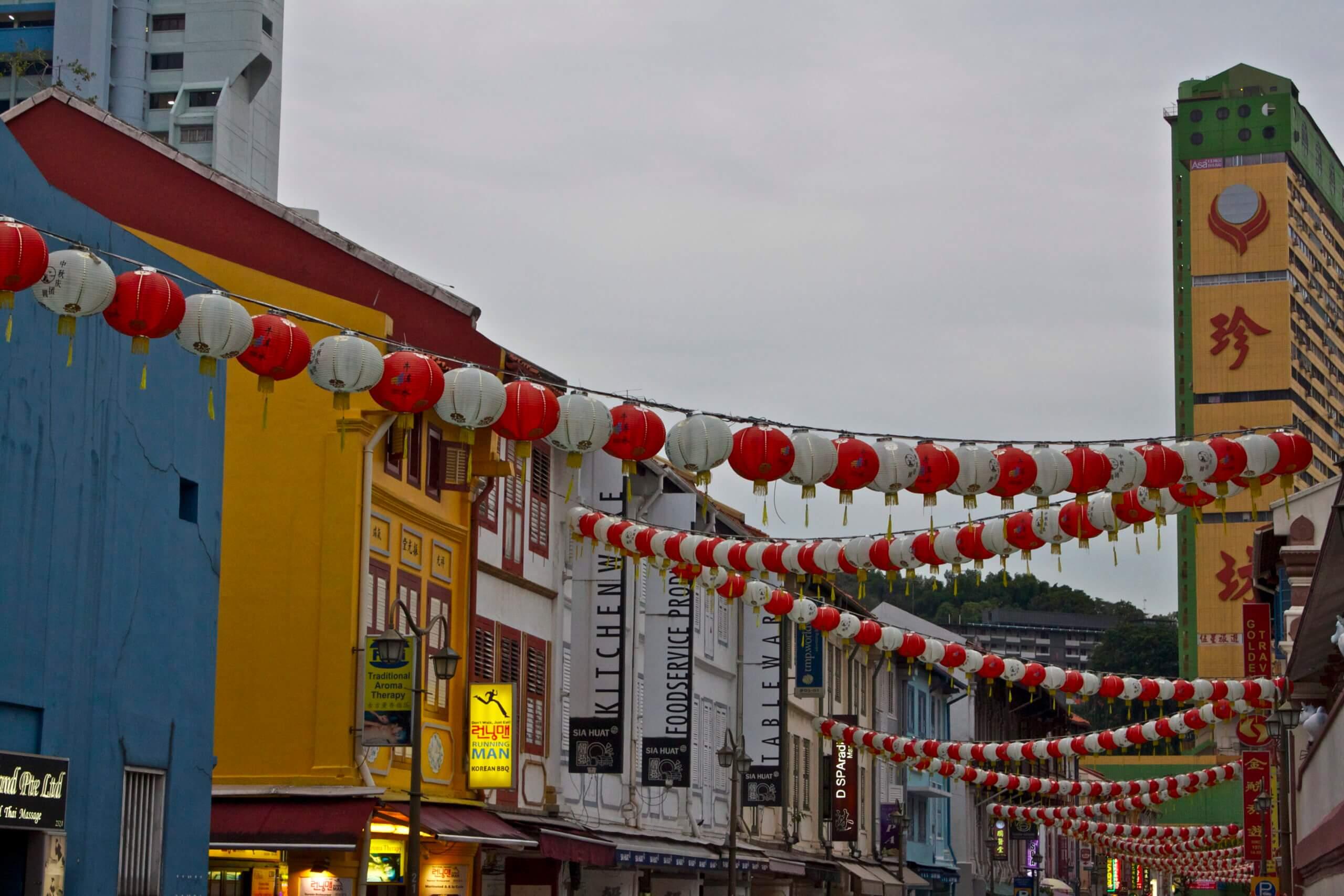 Chinatown. Singapur.