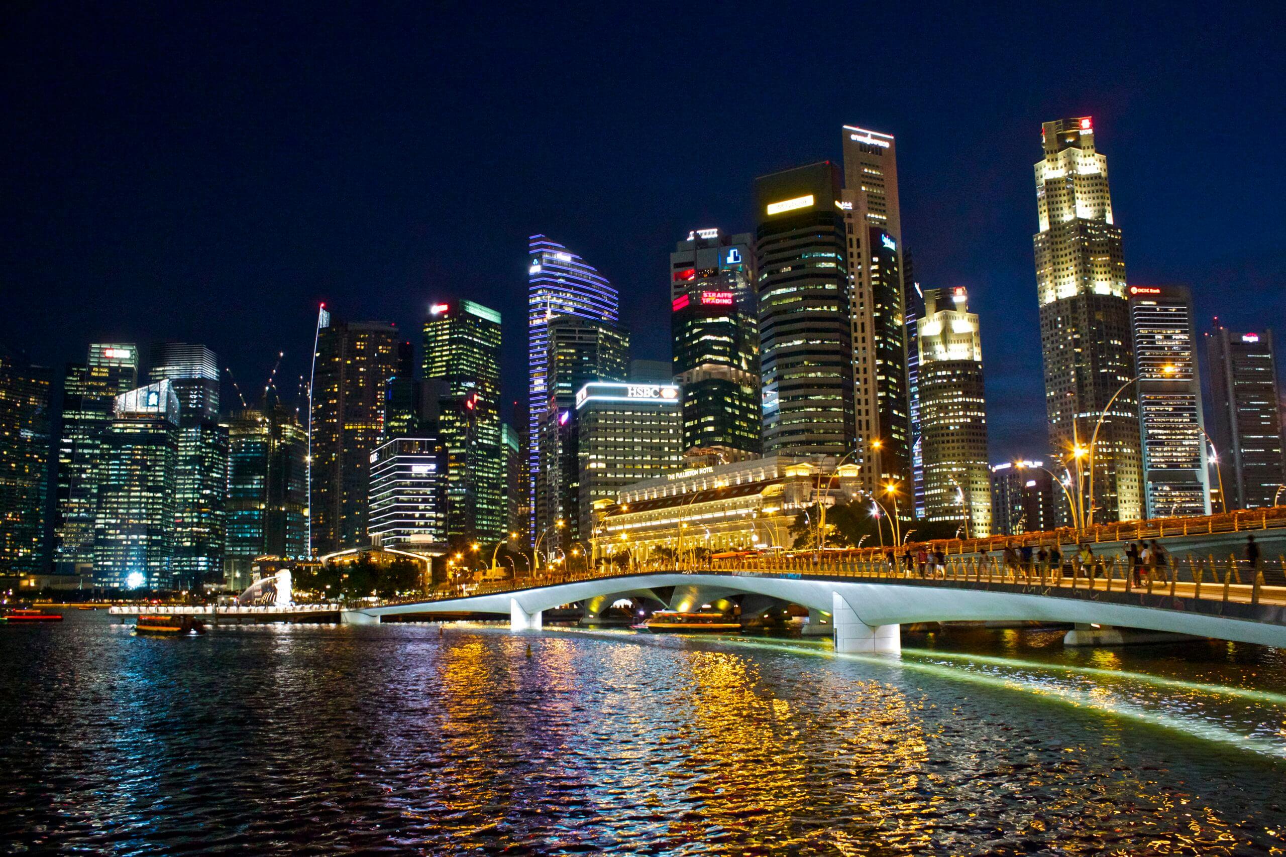 City. Singapur