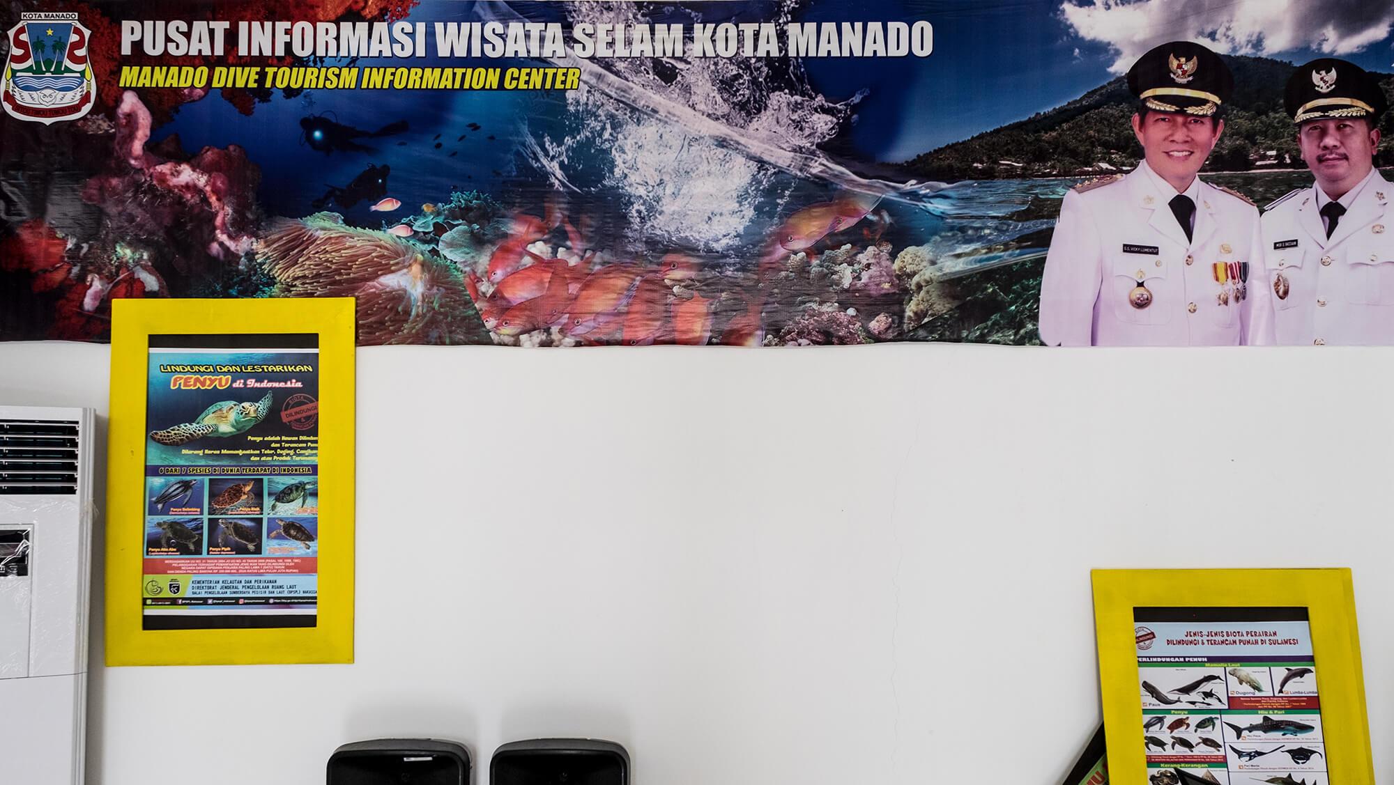 Turismo de buceo en Manado y Bunaken, al norte de Sulawesi