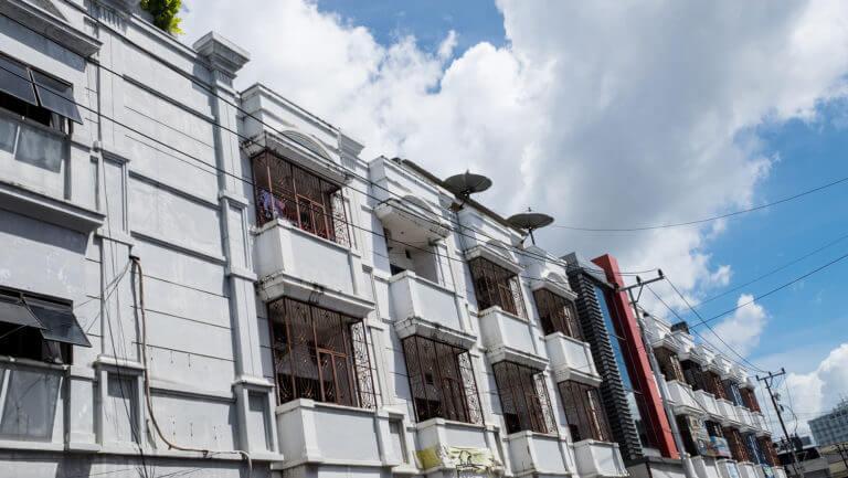 Arquitectura colonial en la ciudad de Manado en Sulawesi