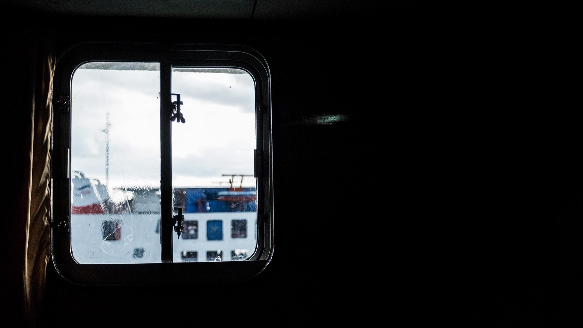Ferry que circula entre las islas Togean y Gorontalo