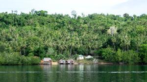 Paraíso tropical en las Islas Togean de Sulawesi