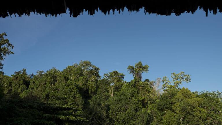 Vista desde la cabaña Hamueco de Raja Ampat