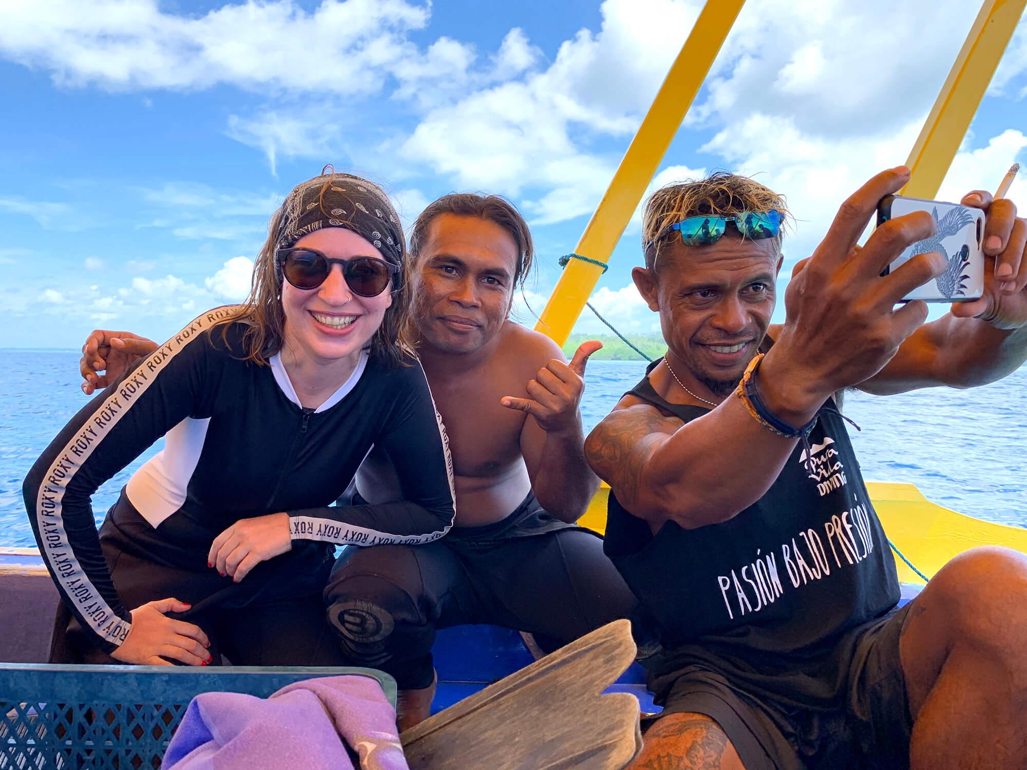 Buceo en la isla de Bunaken en el norte de Sulawesi