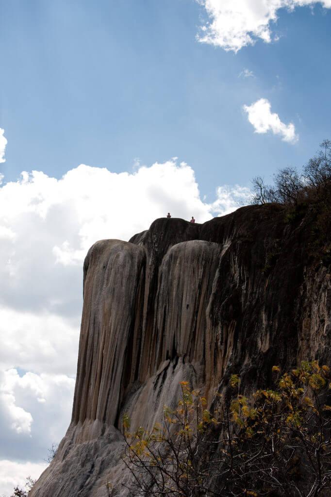 Oaxaca y sus extraordinarias cascadas de agua petrificada