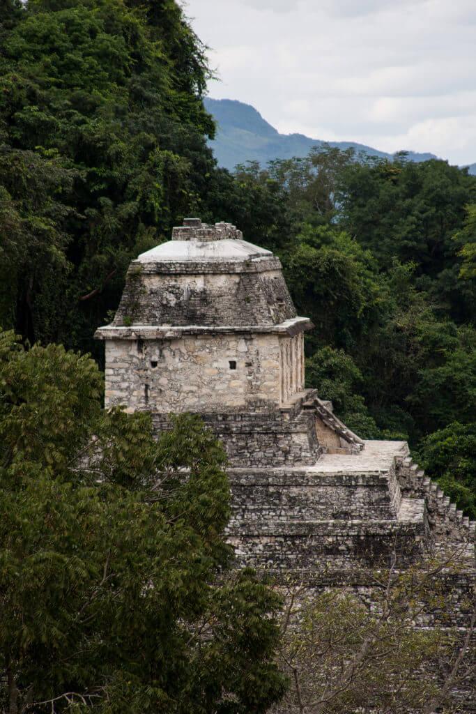 Espectaculares ruinas arqueológicas de Palenque en México