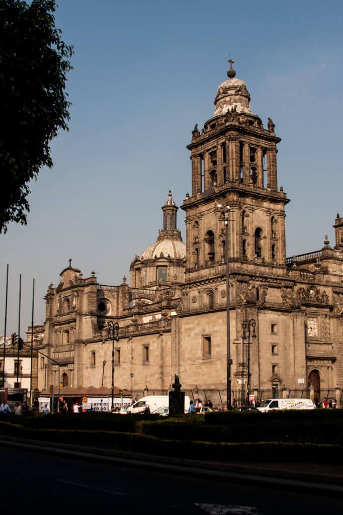 Plaza de la Constitución en la capital de México DF