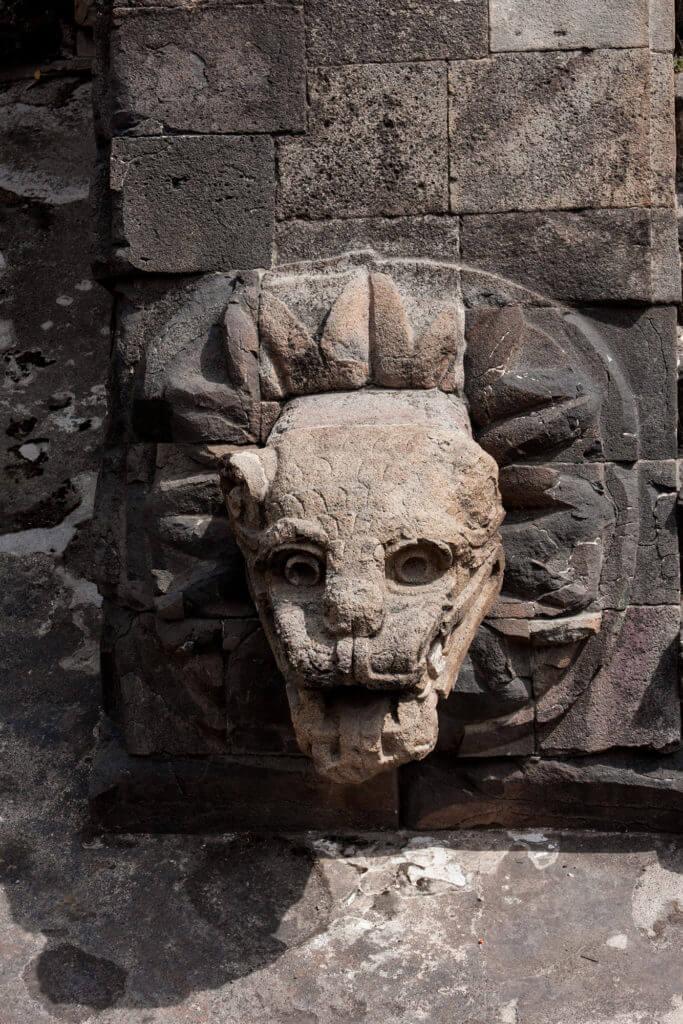 Ruinas mayas de Juan Teotihuacan de Arista en México