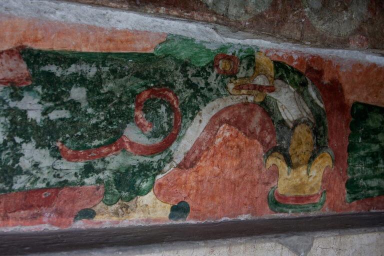 Pinturas mayas de Juan Teotihuacan de Arista en México