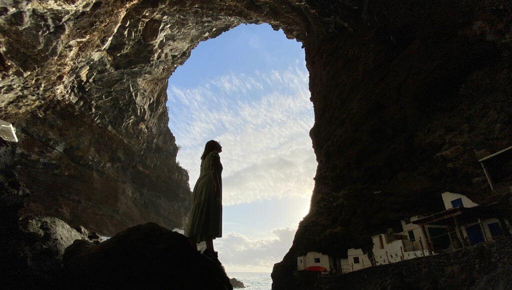 Porís de Candelaria: pueblo escondido en una cueva de La Palma