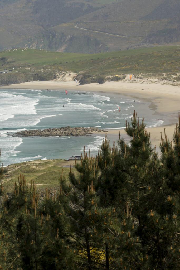 Playa de Santa Comba en Ferrol
