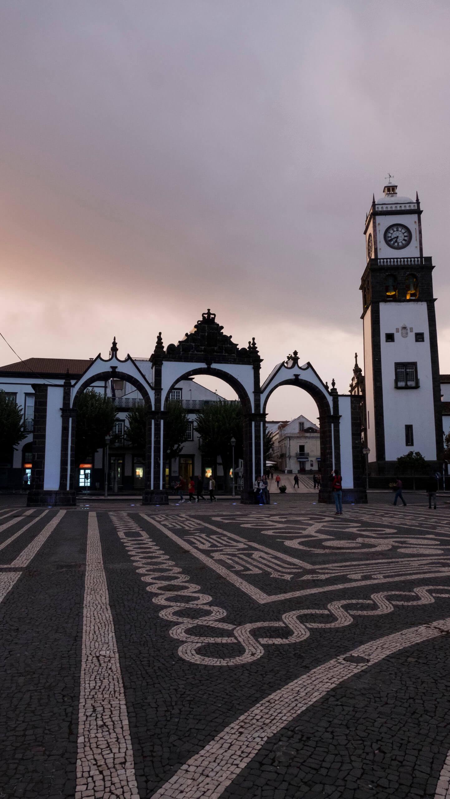 São Miguel. Azores. Mosteiros