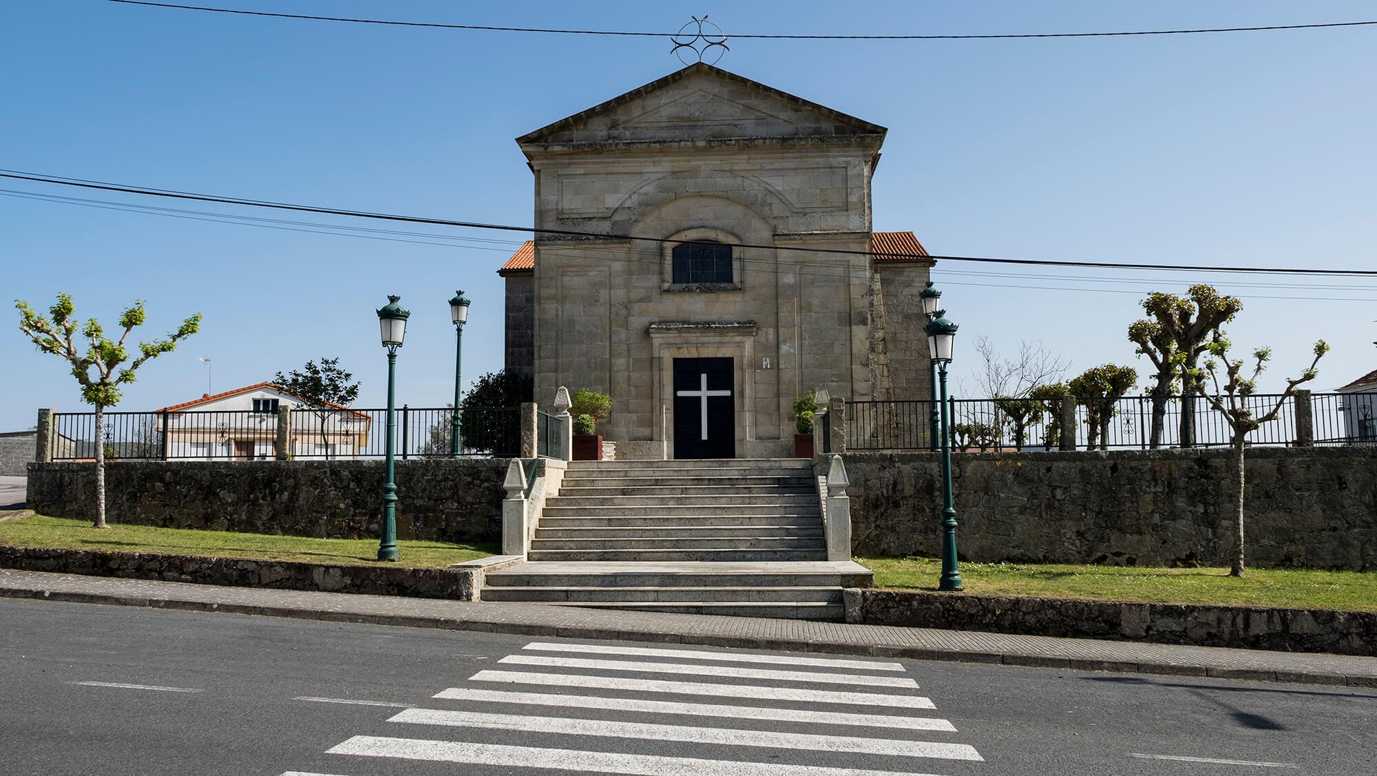 Iglesia de Corrubedo
